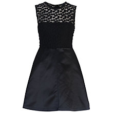 Buy French Connection Chelsea Beau Dress, Black Online at johnlewis.com