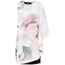 Buy Ted Baker Lizeey Porcelain Rose Tunic, Ecru Online at johnlewis.com