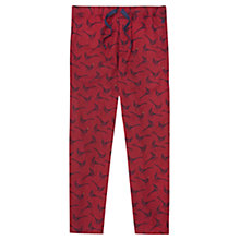 Buy Joules Selwyn Pheasant Relaxwell Lounge Pants, Red Online at johnlewis.com