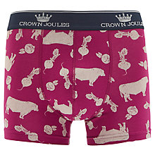 Buy Joules Crown Joules Meat and Two Veg Trunks, Purple Online at johnlewis.com