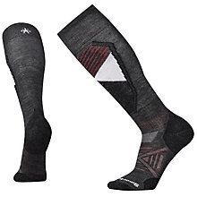 Buy SmartWool PhD Ski Light Pattern Men's Socks, Charcoal Online at johnlewis.com