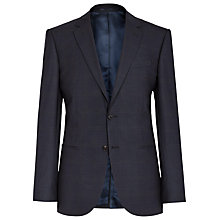 Buy Reiss Judge Check Wool Modern Fit Suit Jacket, Navy Online at johnlewis.com