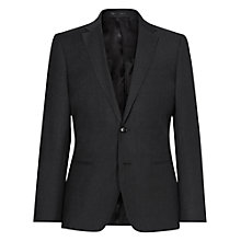 Buy Reiss Daley Wool Slim Fit Suit Jacket, Charcoal Online at johnlewis.com