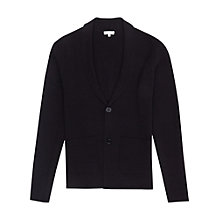 Buy Reiss Lance Shawl Collar Cardigan, Navy Online at johnlewis.com