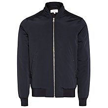 Buy Reiss Eiffel Bomber Jacket, Navy Online at johnlewis.com