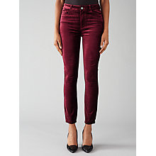 Buy Paige Hoxton Ankle Skinny Jeans, Ruby Online at johnlewis.com