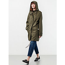 Buy Parka London Elisa Parka, Dark Green Online at johnlewis.com