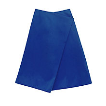 Buy Finery Belshaw Fold A-Line Skirt, Blue Online at johnlewis.com