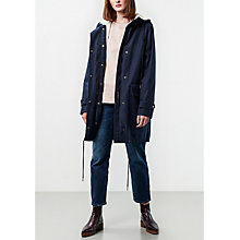 Buy Parka London Elisa Parka, Navy Online at johnlewis.com