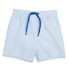 Buy John Lewis Baby Seersucker Swimming Shorts Online at johnlewis.com