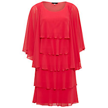 Buy Gina Bacconi Beaded Edge Tiered Dress And Shawl Online at johnlewis.com