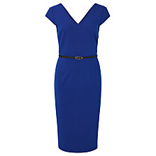 Buy Sugarhill Boutique Kirsty Ribbed Dress, Cobalt Blue Online at johnlewis.com