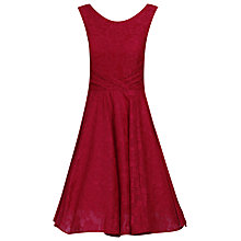 Buy Jolie Moi Lace Bonded Pleat Dress Online at johnlewis.com