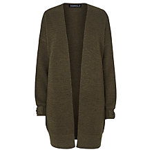 Buy Sugarhill Boutique Lilly Cocoon Cardigan, Khaki Online at johnlewis.com