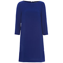Buy French Connection Arrow Crepe Tunic Dress, Blue Depths Online at johnlewis.com