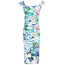 Buy Jolie Moi Ruched Wiggle Dress Online at johnlewis.com