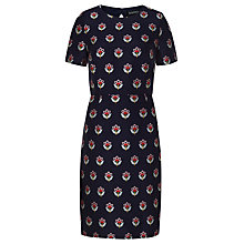 Buy Sugarhill Boutique Larisa Floral Love Dress, Navy Online at johnlewis.com