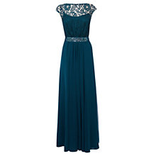 Buy Coast Lori Lee Lace Maxi Dress, Kingfisher Online at johnlewis.com
