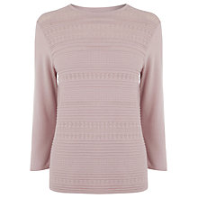 Buy Warehouse Pretty Stitch Crew Neck Jumper Online at johnlewis.com