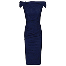 Buy Jolie Moi Bardot Neckline Shift Dress Online at johnlewis.com