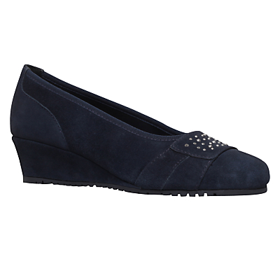 Carvela Comfort Allie Wedge Heeled Court Shoes