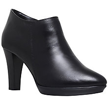 Buy Carvela Roomie Cone Heeled Ankle Boots, Black Online at johnlewis.com