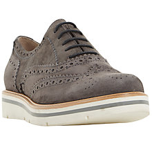 Buy Dune Feathers Flatform Brogues Online at johnlewis.com