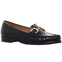 Buy Carvela Click Flat Shoes, Black Patent Leather Online at johnlewis.com
