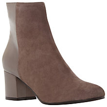 Buy Dune Black Orsen Block Heel Ankle Boots Online at johnlewis.com