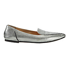 Buy Jigsaw Celeste Pointed Toe Loafers Online at johnlewis.com