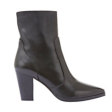 Buy Mint Velvet Tor Pointed Toe Ankle Boots, Black Online at johnlewis.com