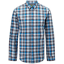 Buy BOSS Green C-Bustai Poplin Check Shirt Online at johnlewis.com