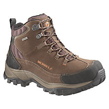 Buy Merrell Norsehund Omega Men's Hiking Boots, Brown Online at johnlewis.com