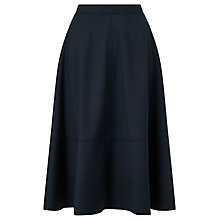 Buy Kin by John Lewis Full Skirt, Navy Online at johnlewis.com