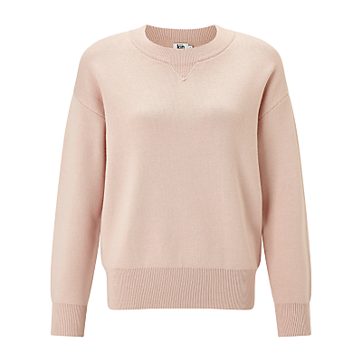 Kin by John Lewis Compact Cotton Sweatshirt, Pink