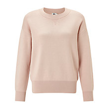 Buy Kin by John Lewis Compact Cotton Sweatshirt, Pink Online at johnlewis.com