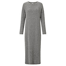 Buy Kin by John Lewis Textured Knitted Dress, Grey Online at johnlewis.com
