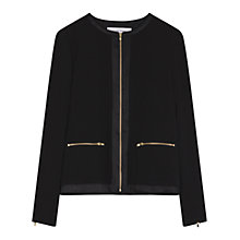 Buy Gerard Darel Calvin Jacket, Black Online at johnlewis.com