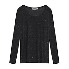Buy Gerard Darel Sienna T-Shirt, Black Online at johnlewis.com
