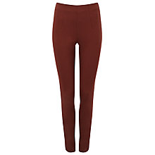 Buy Phase Eight Amina Darted Jeggings, Tobacco Online at johnlewis.com