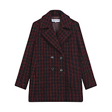 Buy Gerard Darel Gabin Coat, Dark Red Online at johnlewis.com