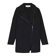 Buy Gerard Darel Santal Coat, Navy Blue Online at johnlewis.com