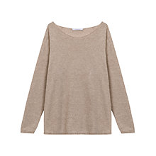 Buy Gerard Darel Sanibel Pullover, Beige Online at johnlewis.com