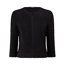 Buy Precis Petite Abigail Ribbed Jacket Online at johnlewis.com