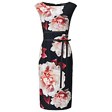 Buy Phase Eight Alma Print Crepe Dress, Multi Online at johnlewis.com