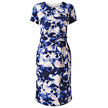 Buy Precis Petite Ade Soft Petal Dress, Multi Blue Online at johnlewis.com