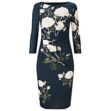 Buy Phase Eight Veronica Rose Dress, Navy Online at johnlewis.com