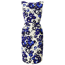 Buy Precis Petite Lori Floral Shift Dress, Blue/Multi Online at johnlewis.com