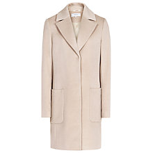 Buy Reiss Wool Harmony Relaxed Fit Coat, Oatmeal Online at johnlewis.com