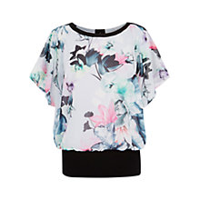 Buy Coast Leche Printed Calla Top, Multi Online at johnlewis.com